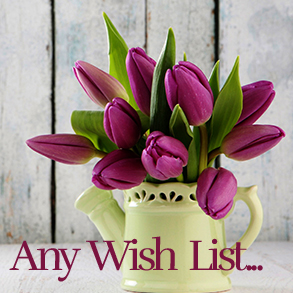 wishlists for any occasion lists